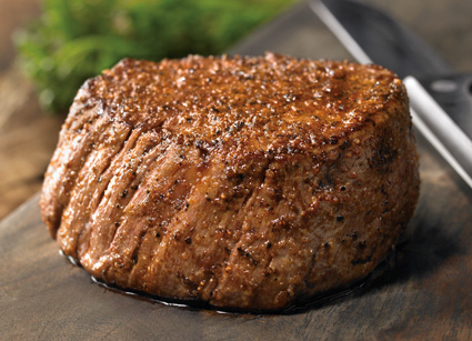 6 oz Victoria's Filet Mignon Under 600 Calories