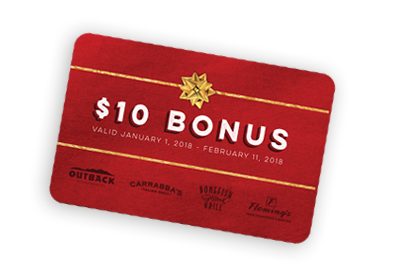 Restaurant Gift Cards | Outback Steakhouse