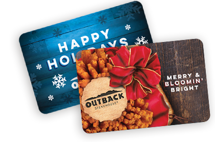 Restaurant Gift Cards Outback Steakhouse