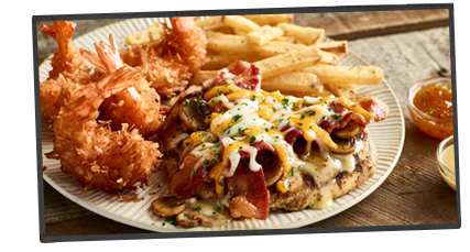 Dinner outback steakhouse for Australian cuisine menu