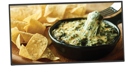 NEW! Cheesy Spinach Dip