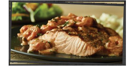 NEW! Toowoomba Shrimp Topped Salmon